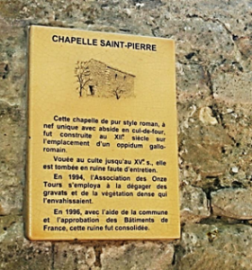 plaque-chapelle St Pierre
