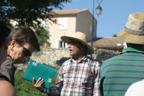 Visite du village - notre guide JF Boissier