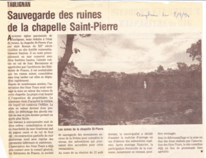chapelle St pierre- article2-1994