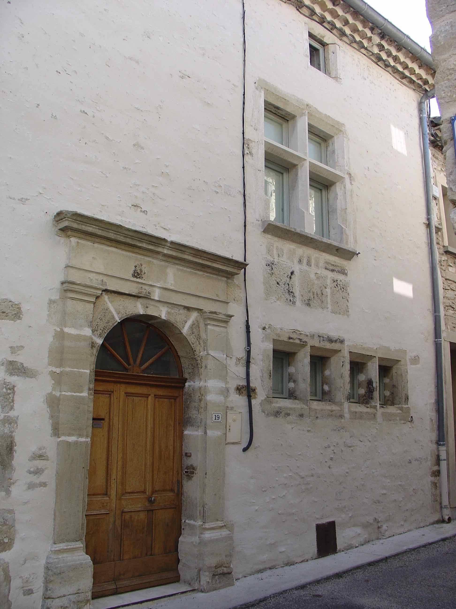 Maison noble Facade