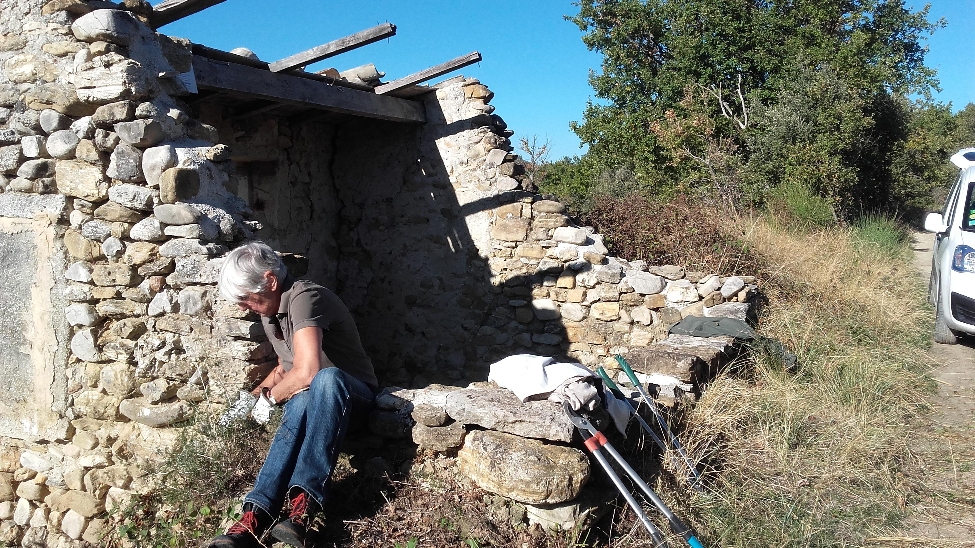 Cabanon à toit coupé