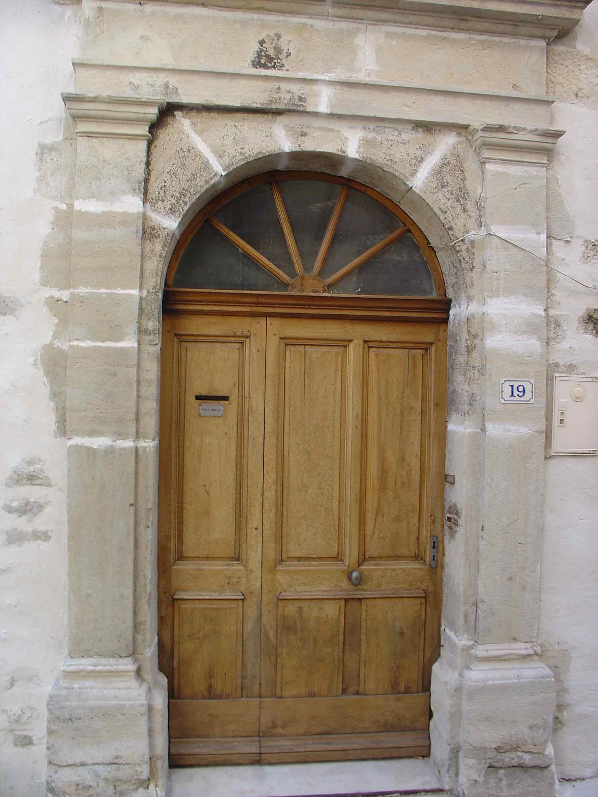 Maison noble porte